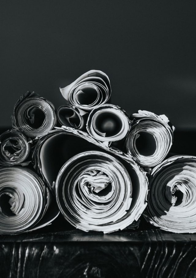 Inkjet papir